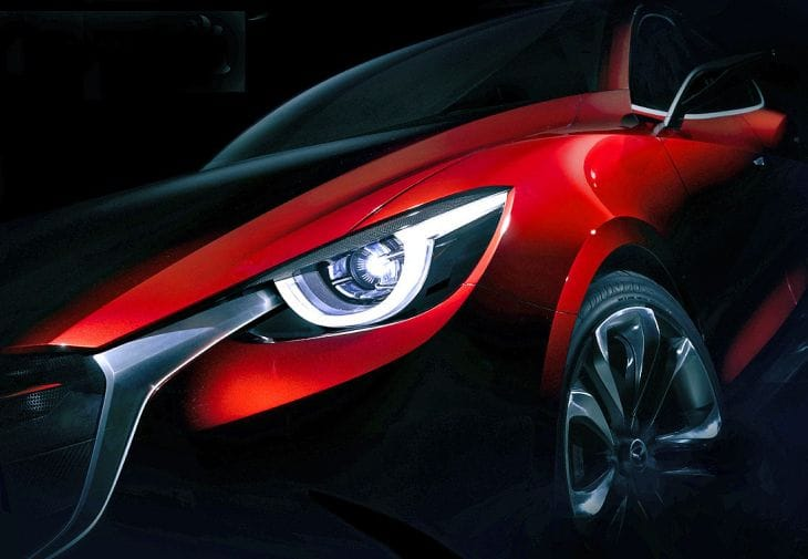 Mazda Hazumi concept design prematurely leaked