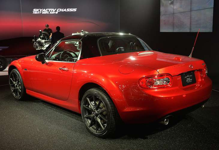 Mazda MX-5 25th Anniversary Edition pre-order