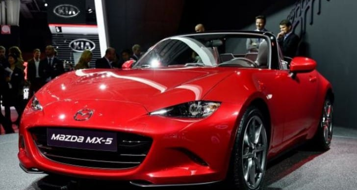 Mazda MX-5 (Miata) 2015 engines confirmed, not performance