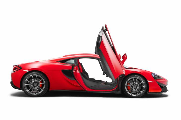 McLaren 540C Coupe price