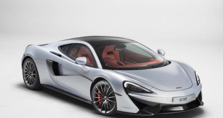McLaren 570GT trades performance for usefulness