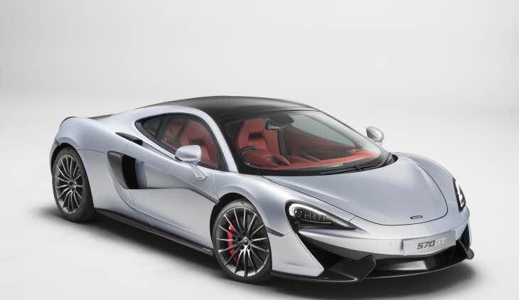 McLaren 570GT performance
