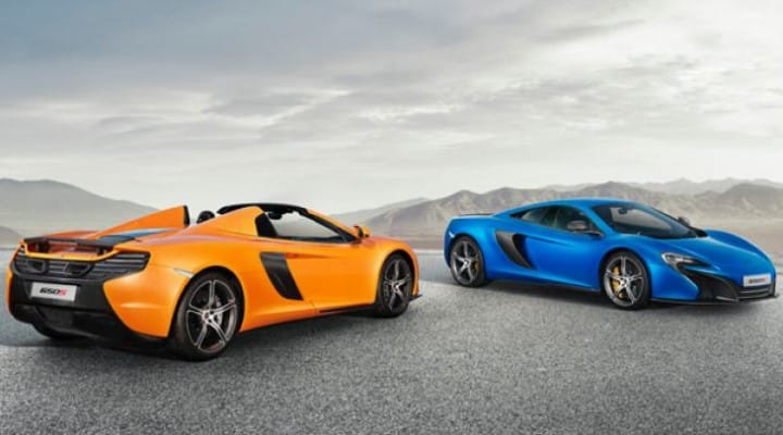 McLaren 650S US, Canada price list analysis