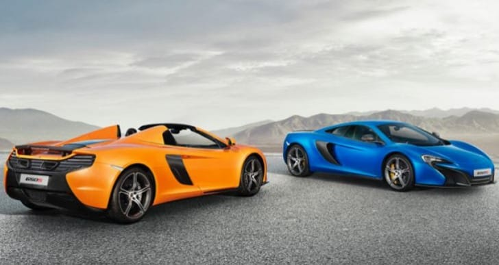 McLaren 650S US, Canada price list analysis