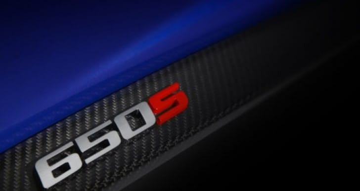 McLaren 650S specs reveal at Geneva Motor Show