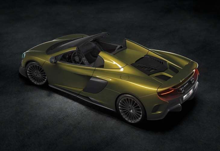 McLaren 675LT Spider specs