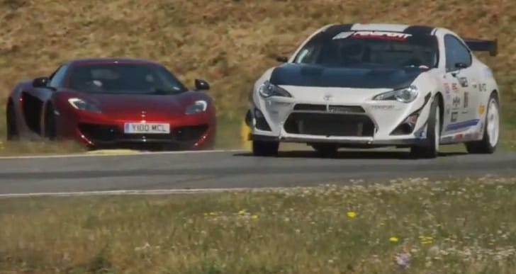 McLaren MP4-12C vs. Toyota GT86 highlights performance