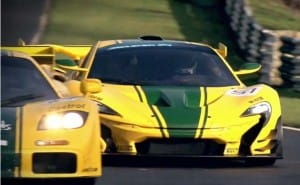 McLaren P1 GTR vs. F1 GTR on track, not in anger