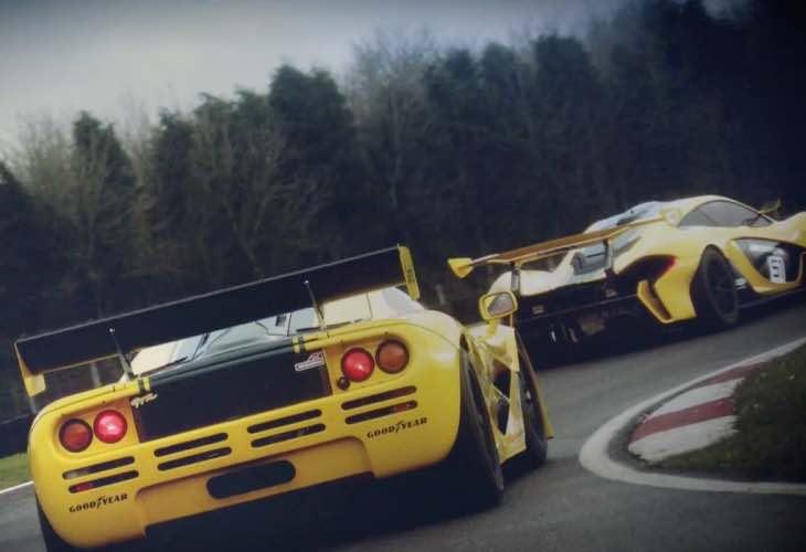 McLaren P1 GTR  vs. F1 GTR