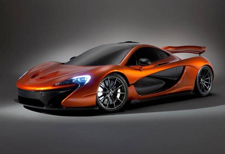 McLaren P1 assessment and marketing campaign