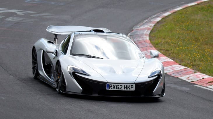 McLaren P1 at the Nurburgring