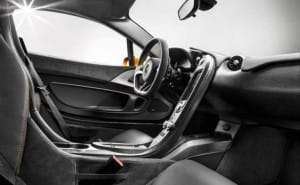 McLaren P1 interior eye candy revealed