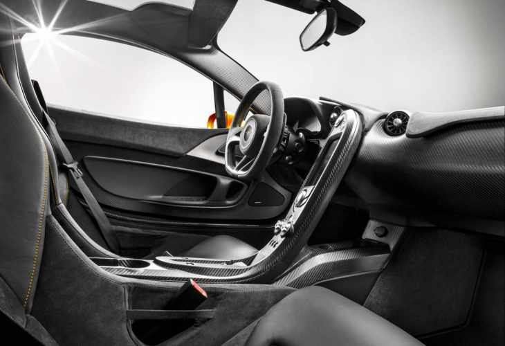 McLaren P1 interior eye candy revealed