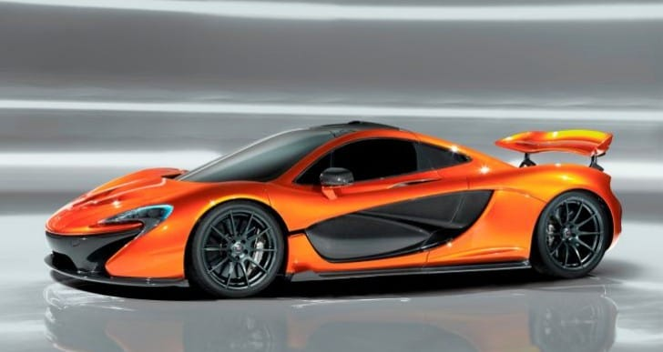 McLaren P1 limits top speed, unleashes other potential