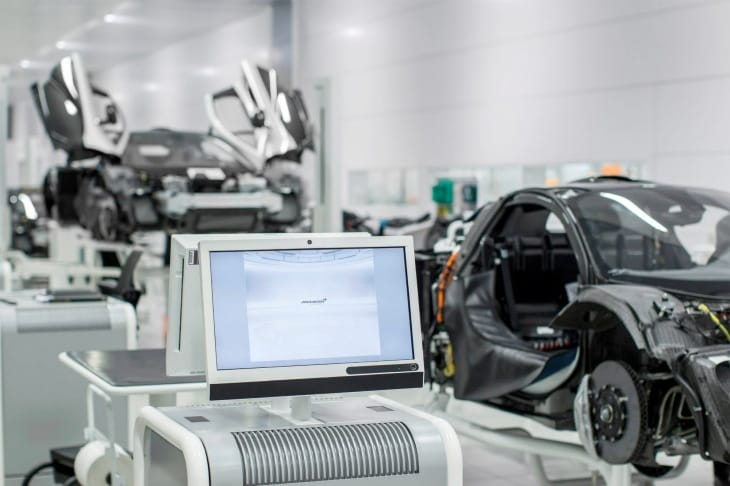 McLaren P1 production line images released