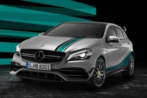 Mercedes-AMG A 45 PETRONAS Edition UK price and availability