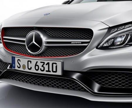 Mercedes-AMG C63 spec sheet for S saloon, hatchback