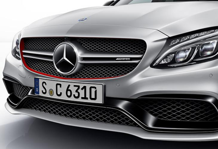 Mercedes-AMG C63 spec sheet for S saloon, hatchback
