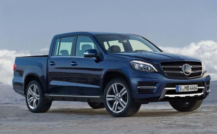 Mercedes-Benz GLT pickup details