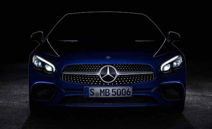 Mercedes-Benz SL-Class LA Auto Show