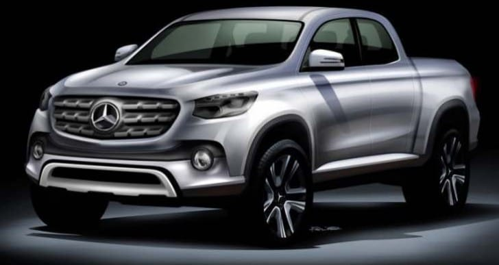 Mercedes-Benz pickup trim levels revealed