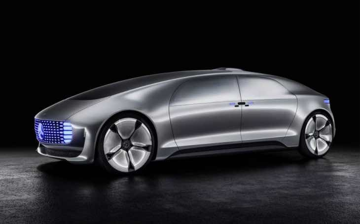 Mercedes F015 Concept at Detroit Auto Show