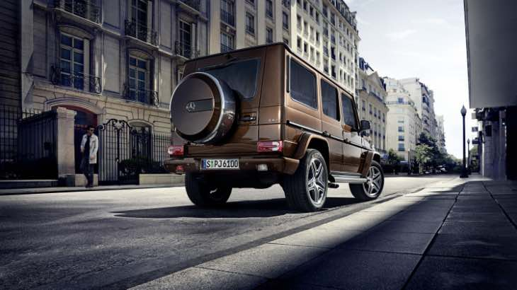 Mercedes G-Class exterior enhancements