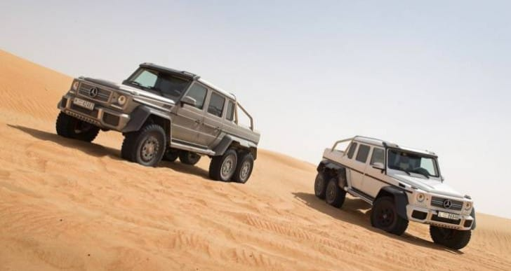 Mercedes G63 AMG 6×6 price gains interest