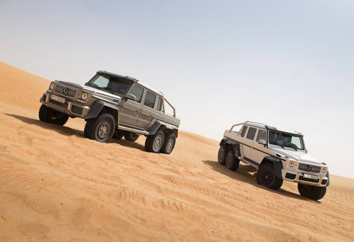 Mercedes G63 AMG 6x6 price gains interest