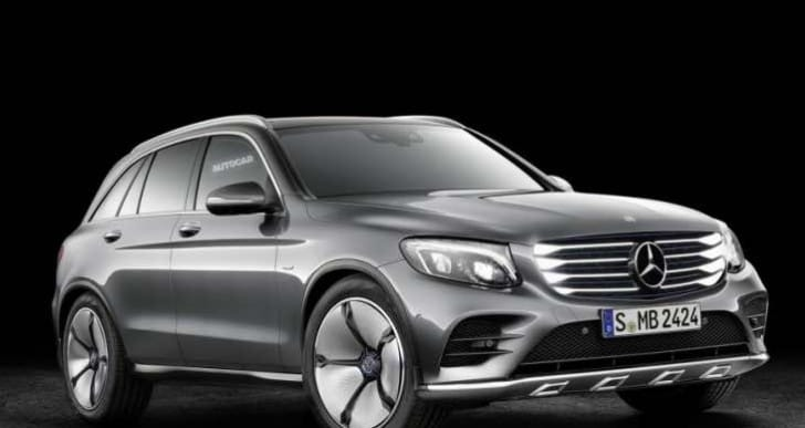 Mercedes GLC hydrogen fuel cell release, price expectations
