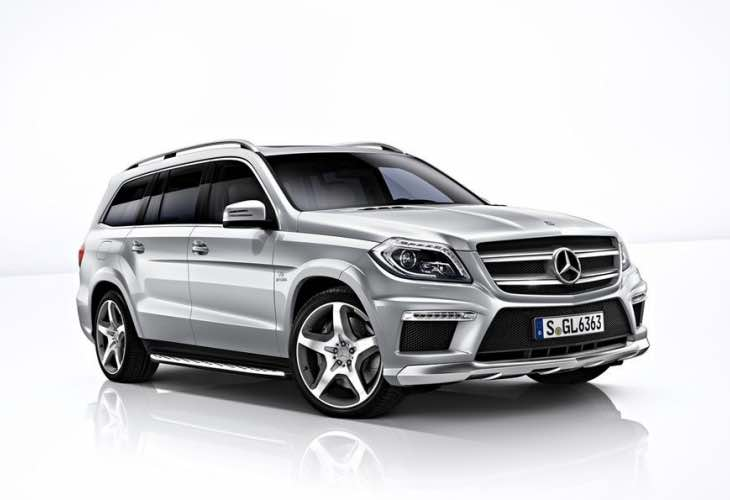 Mercedes GLS 65 AMG 10-speed
