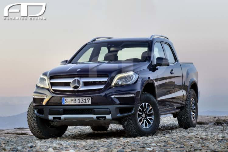 Mercedes GLT pickup design