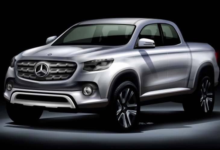 Mercedes GLT pickup truck details shared