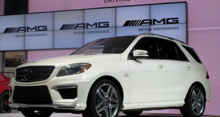 Mercedes ML63 AMG price and specs in India