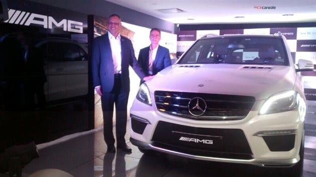 Mercedes ML63 AMG price in India