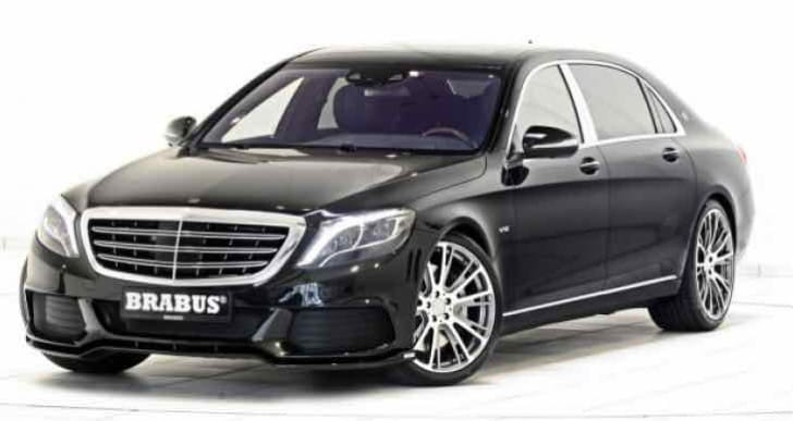 Mercedes-Maybach gets Brabus customization for enhancements