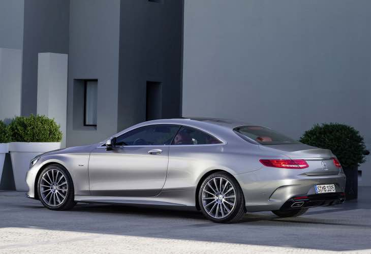 Mercedes S-Class Coupe release