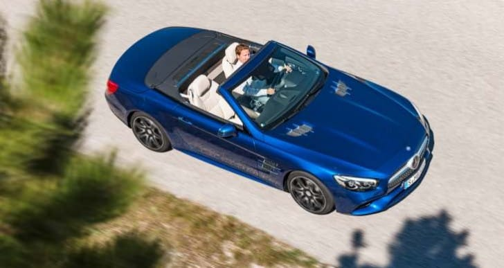 Mercedes SL Roadster UK price list for range