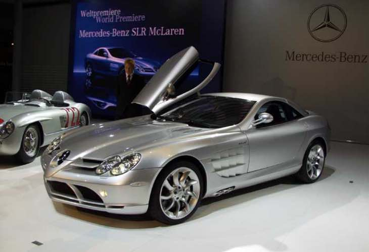 Mercedes SLR McLaren successor to correct flaws