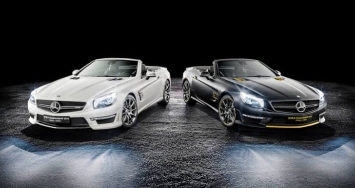 Mercedes SL63 World Championship Edition price deferred