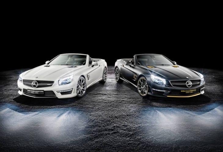 Mercedes World Championship edition SL63