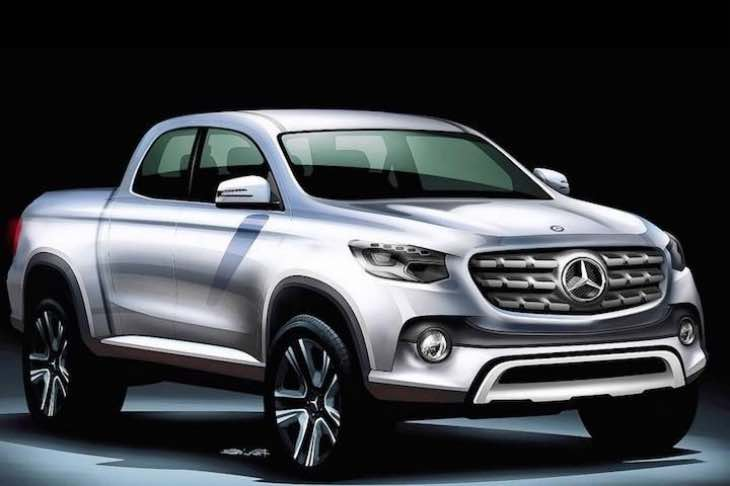 Mercedes pick-up debut