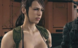 Quiet from Metal Gear Solid 5 with 1080p gameplay