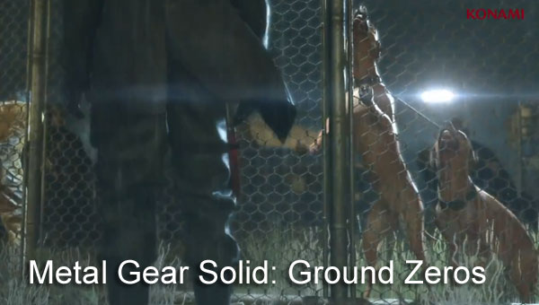 Metal Gear Solid: Ground Zeros visualized