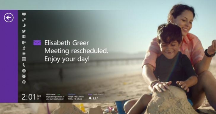 Microsoft Band TV ad is all about moments