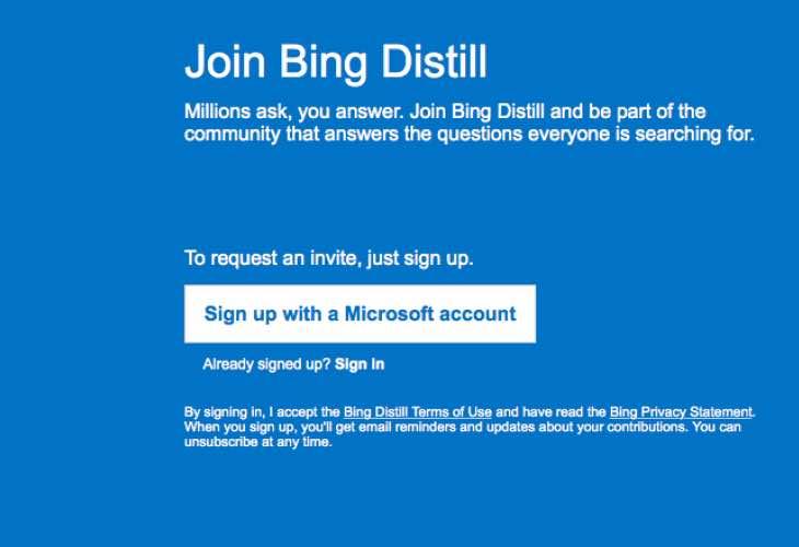 Microsoft Distill invites live