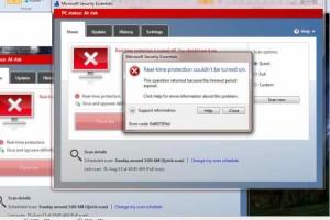 Microsoft Security Essentials update