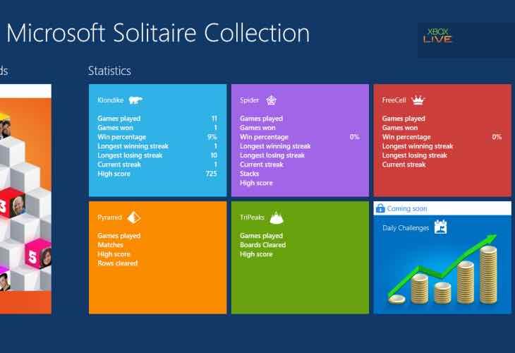 Microsoft Solitaire public tournament
