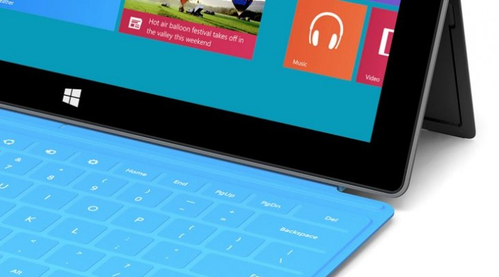Microsoft Surface 2 launch without RT signature