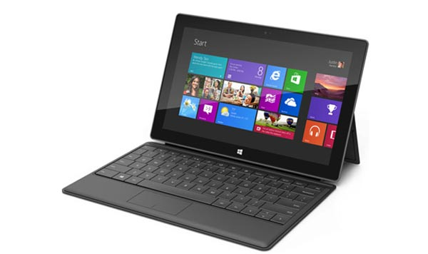 iPad 4 keyboard cover vs. Microsoft Surface in review